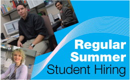 Ontario Government Regular Summer Student Hiring