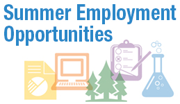 Summer Employment Opportunities