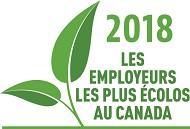 2018 Les employeurs les plus écolos au Canada