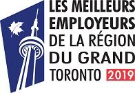 Les meilleurs employeurs de la région du grand Toronto 2019