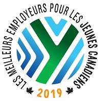 2019 Les meilleurs employeurs pour les jeunes Canadiens
