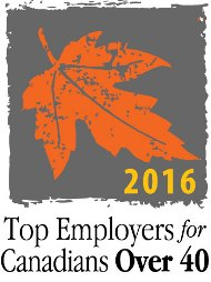 2016 Top Employers for Canadians Over 40
